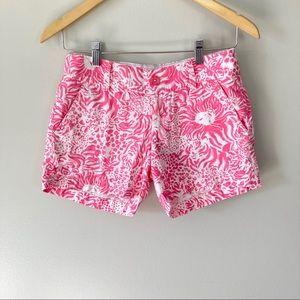 Lilly Pulitzer Callahan Shorts Pink White …